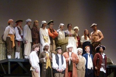 Treasure Island:  Fall Show
