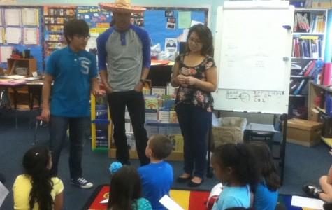 Spanish Heritage class participates in Biblioburro Project