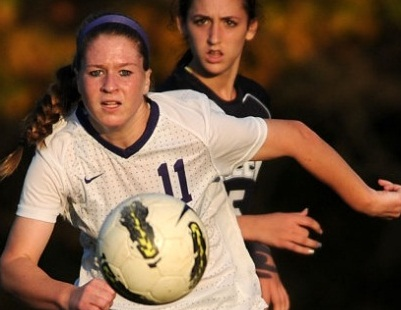 Sarah McGlinn and her roaring soccer success