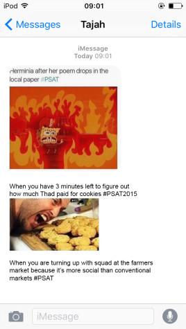 Students Turn the PSAT Into Meme Scenes
