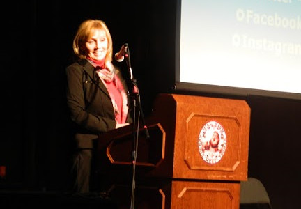 Lt. Governor Kim Guadagno Rocks her Socks at West!
