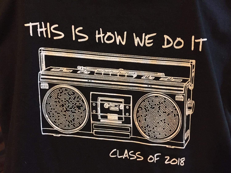 Class of 2018 T Shirt Design